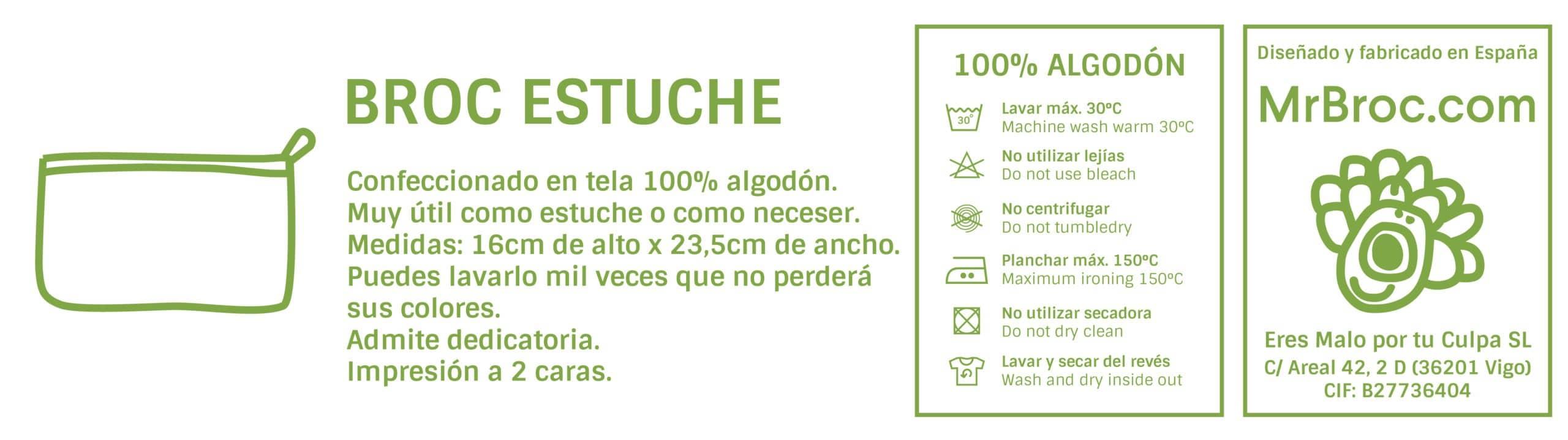 Ficha técnica Estuche personalizado regalo individual para el profe