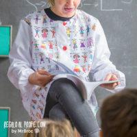 bata personalizada regalos profesores dibujos alumnos niños fin de curso mr broc
