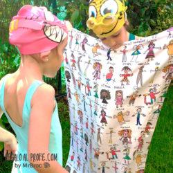 toalla personalizadas regalos para profesores manitas mr broc