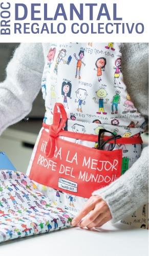 delantales personalizados regalos para profesores dibujos mr broc