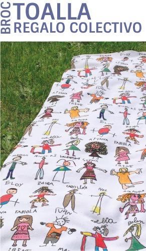 toallas personalizadas regalos para profesores manitas mr broc