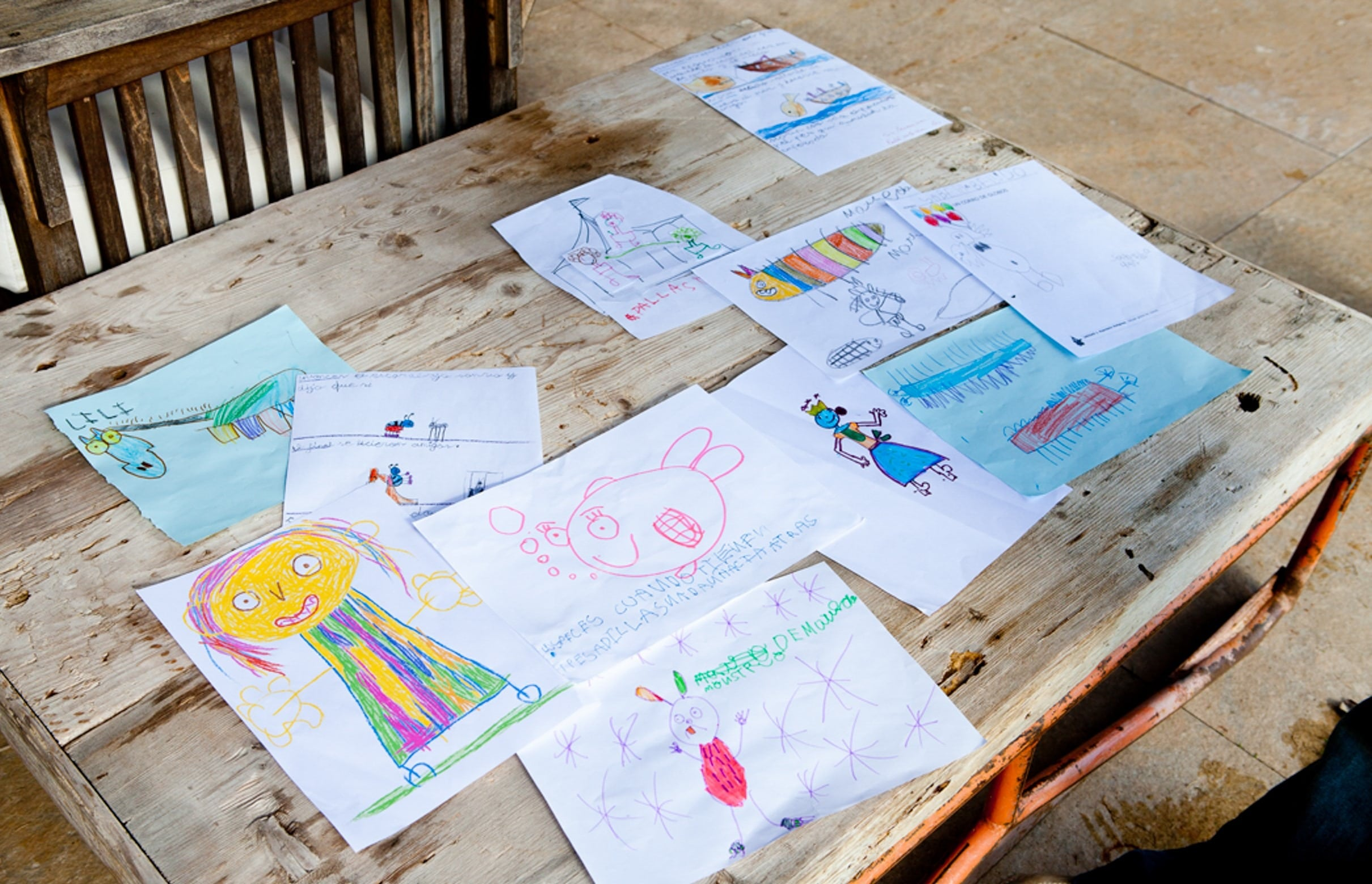 dibujos de niños para personalizar regalos de profesores