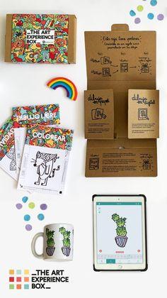 The Art Experience Box de MrBRoc para dibujar